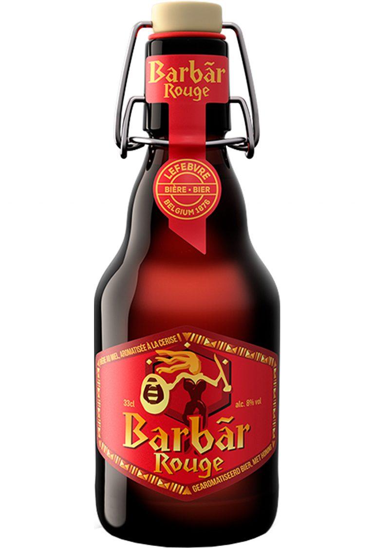 Kirschbier Barbar Rouge mit 8 % Alkohol Volumen