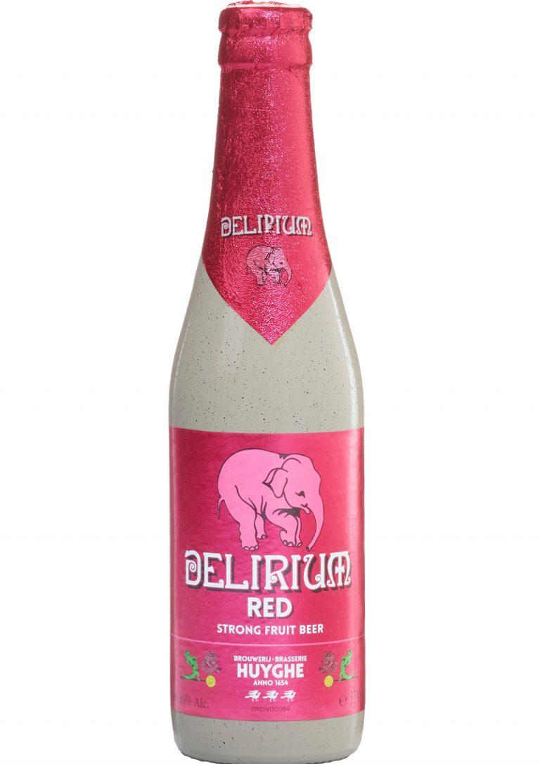 Kirschbier Delirium Red mit 8 % Alkohol Volumen
